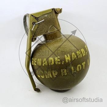 Макет  гранаты М-67 (США)